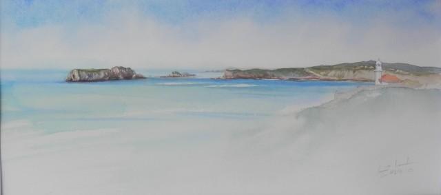 Islas de los Ratones y Faro 2. Suances.
