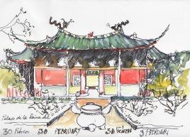 Palacio de la Reina Celestial. Yantai.